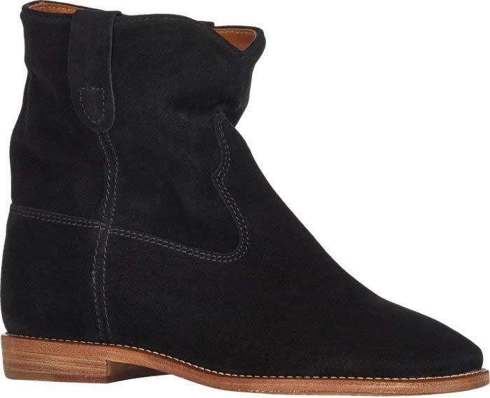 Black Isabel Marant Crisi Suede Boots