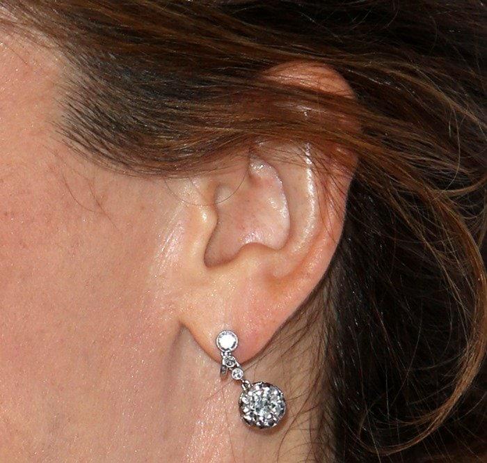 Jennifer Garner's stunning diamond earrings