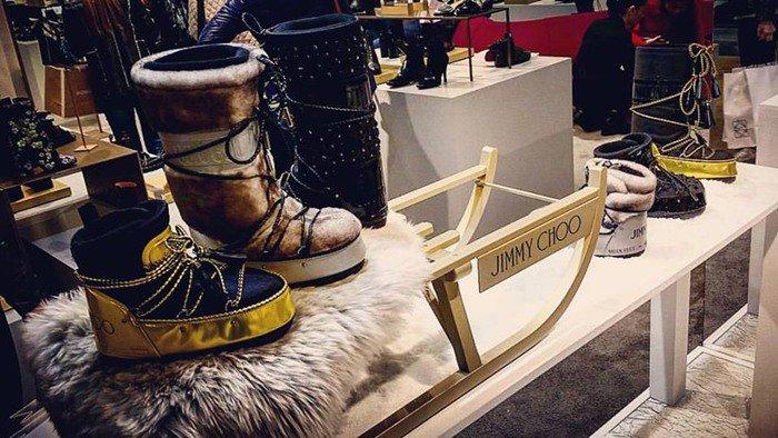 Jimmy Choo Make MB Buzz Winter Snow Boots
