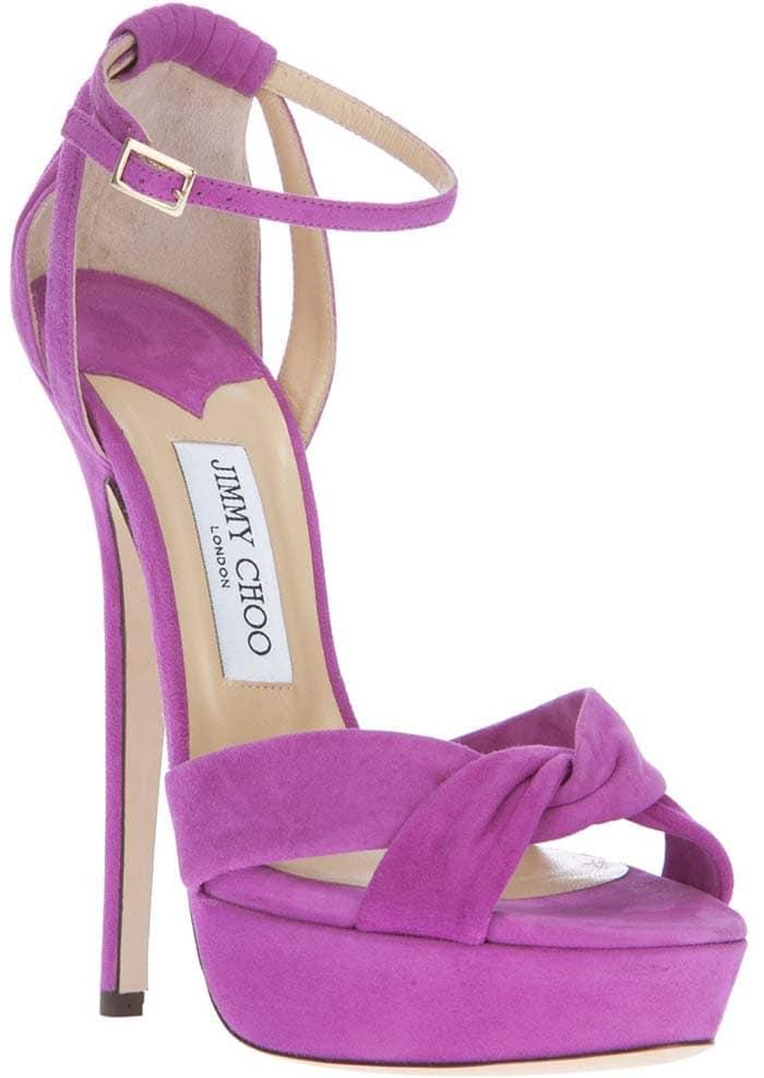 Jimmy Choo Greta Suede Sandals