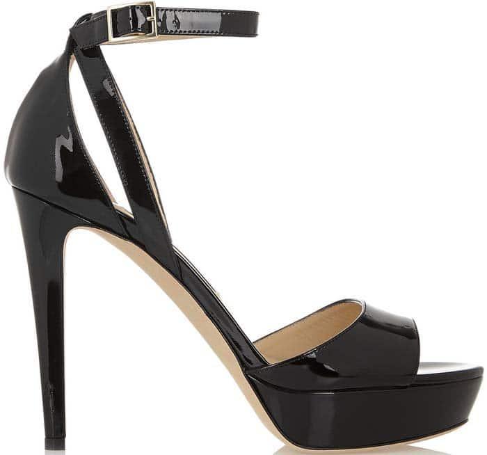 "Jimmy Choo ""Kayden"" Patent Leather Sandal"