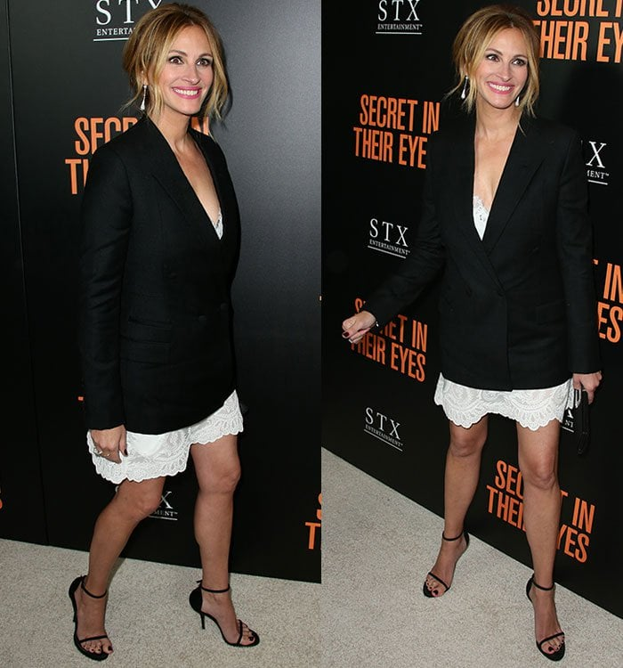 """Julia Roberts at the premiere of STX Entertainment's """"Secret in Their Eyes"""" at the Hammer Museum in Westwood, California, on November 11, 2015"""