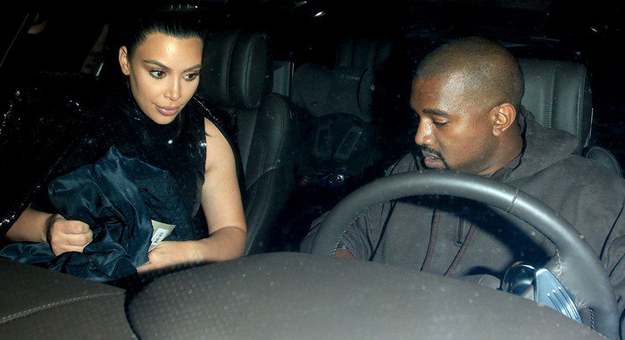 A heavily pregnant Kim Kardashian and Kanye West attend Kendall Jenner's Birthday Celebration at The Nice Guy
