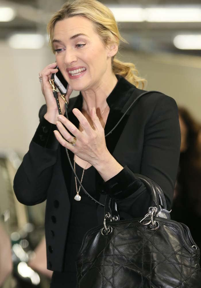 Kate Winslet ITV Isabel Marant 4