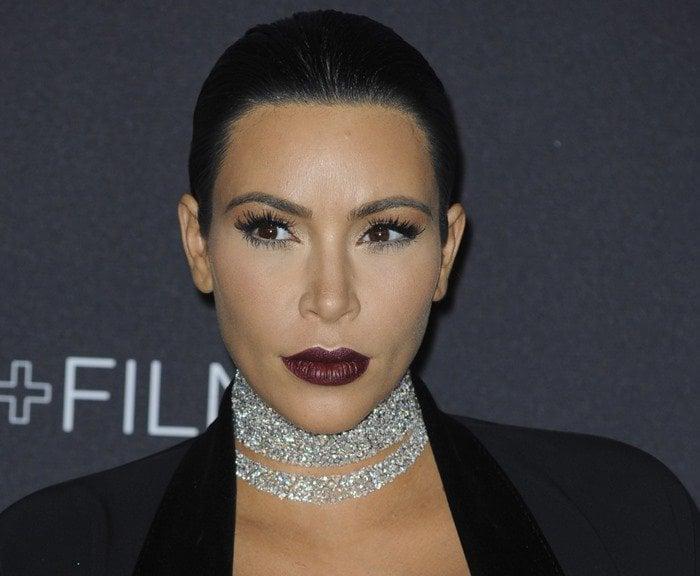 Kim Kardashian's diamond choker necklace