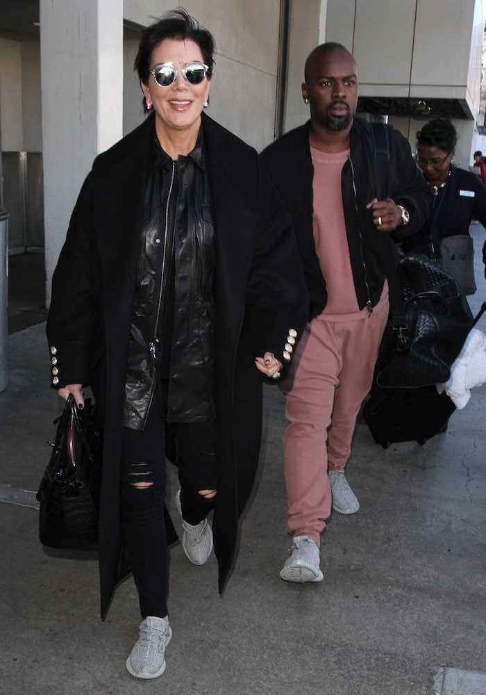 Kris Jenner corey gamble lax2