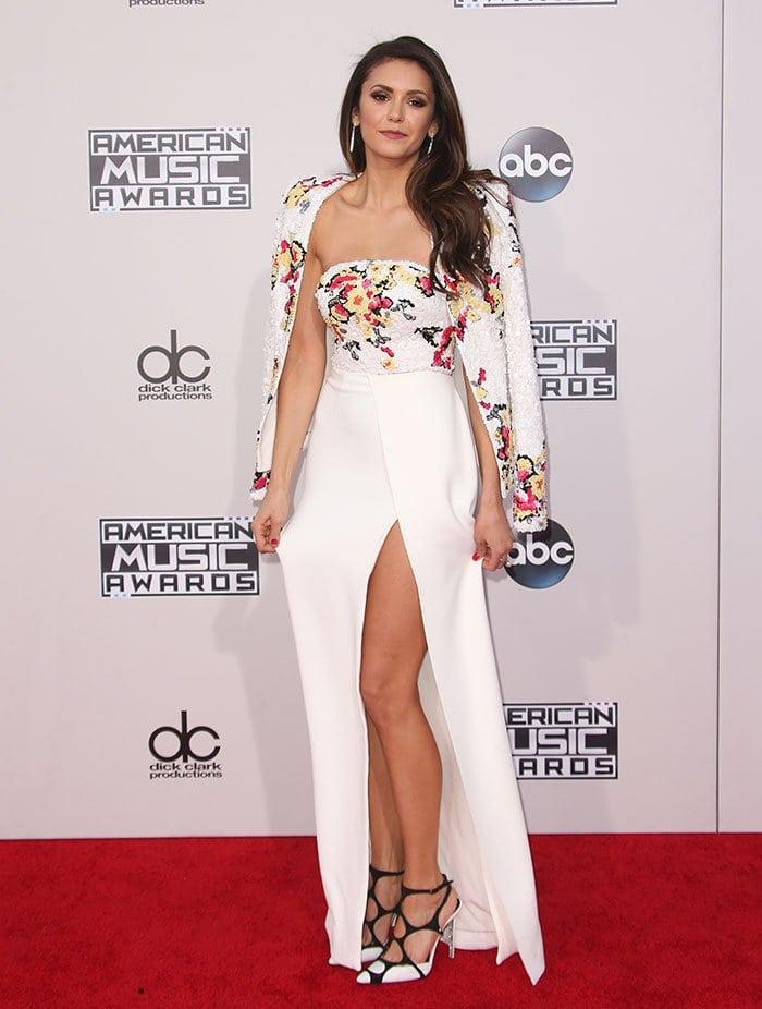 Nina Dobrev 2015 American Music Awards