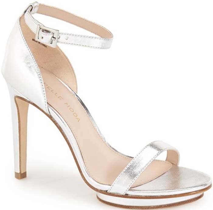 """Pelle Moda """"Taft"""" Ankle Strap Platform Sandal"""