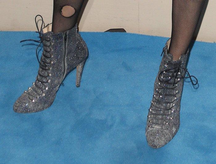 Poppy delevingne halloween shoes