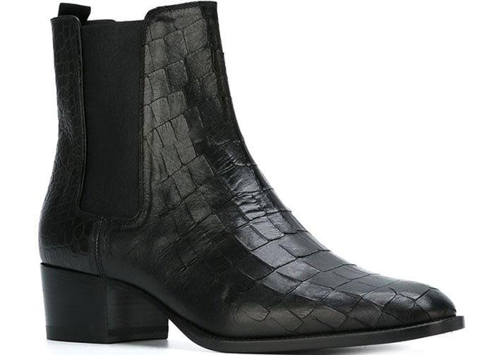 Croc Saint Laurent Wyatt Ankle Boots