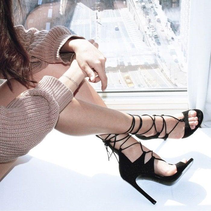 Stuart Weitzman Legwrap Sandals