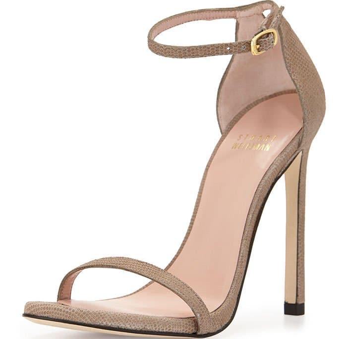 Iconic Nudist Stiletto Sandals