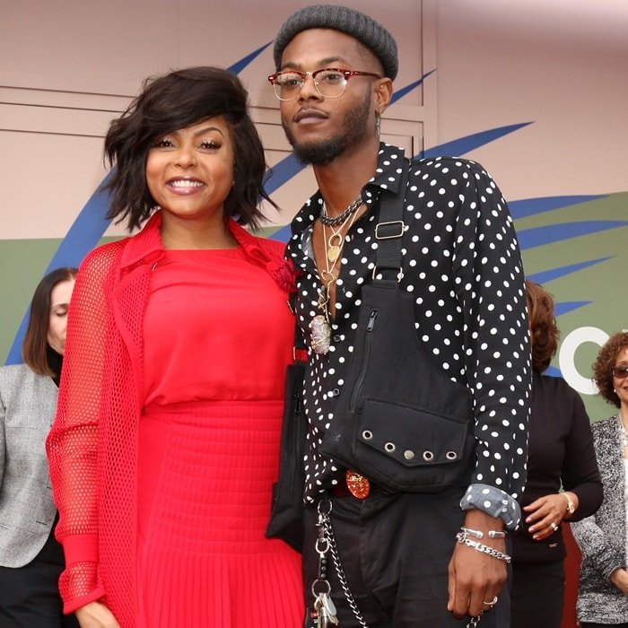 Marcell Johnson is the son of Taraji P. Henson and her high-school sweetheart William LaMarr Johnson