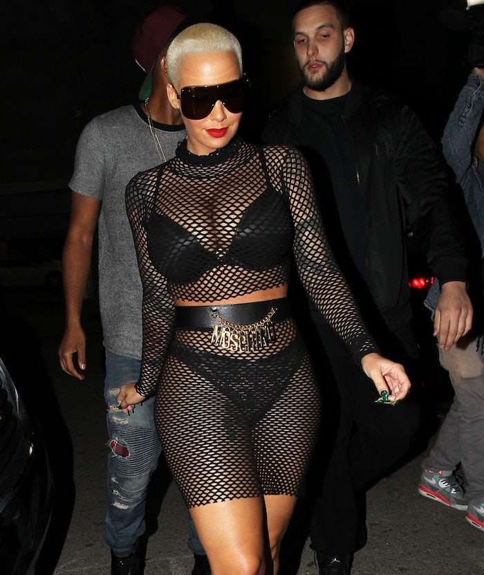 Amber Rose worked as a stripper under the pseudonym 'Paris' from the age of 15