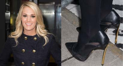 ba751acb39f Carrie Underwood Proves That You Can Have Great Winter Style Without Wearing  Boots