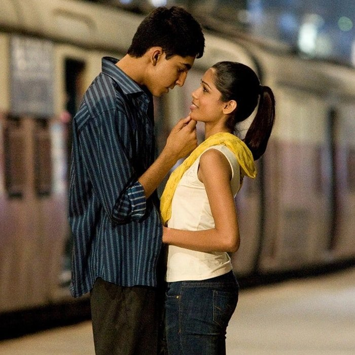 Dev Patel and Freida Pinto started dating after meeting on the set of Slumdog Millionaire