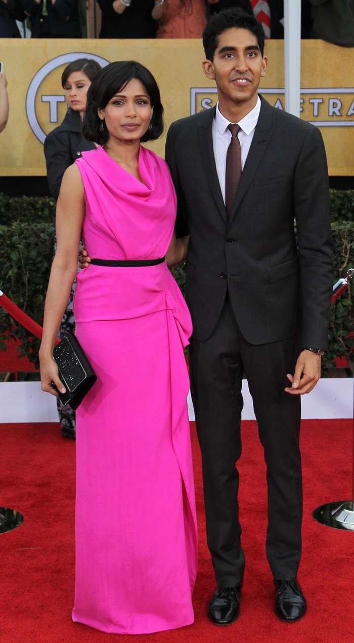 Indian-born British actor Dev Patel and his ex-girlfriend Freida Pinto ended their relationship in 2014