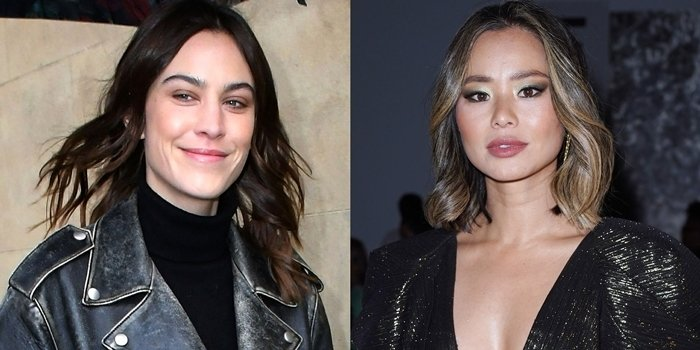British model Alexa Chung (L) is not related to American actress Jamie Chung (R)