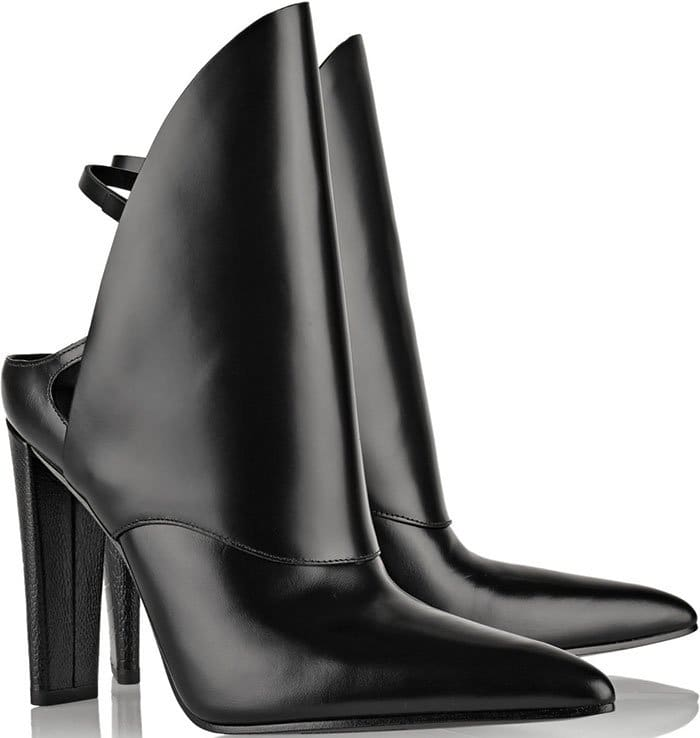 Alexander-Wang-Lys-polished-leather-ankle-boots