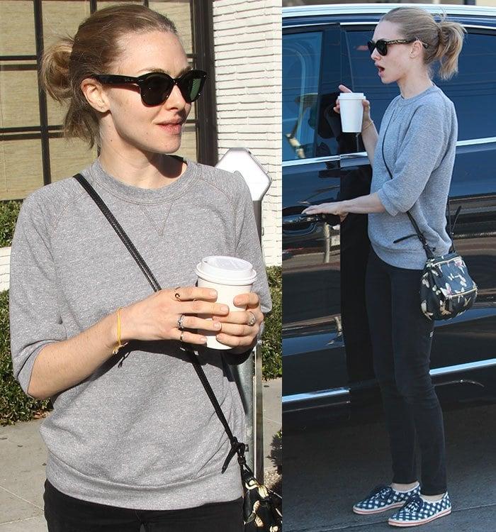 Amanda-Seyfried-gray-sweater-black-jeans-Los-Angeles