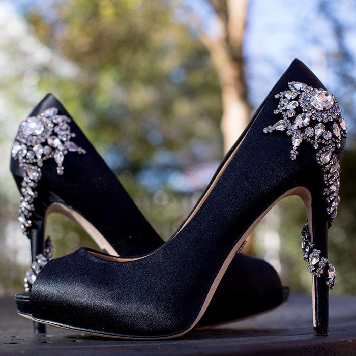 Badgley Mischka Royal Black Pump