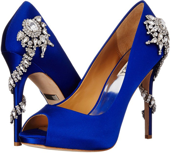 Badgley Mischka Royal Blue