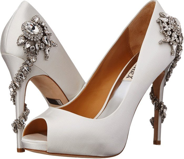 Badgley Mischka Royal White