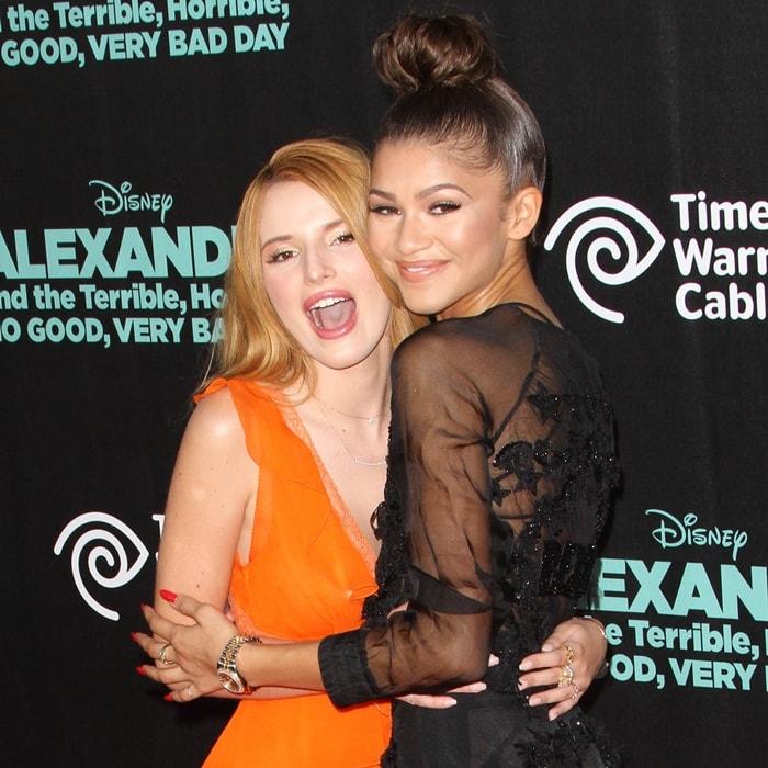 Best friends Bella Thorne and Zendaya