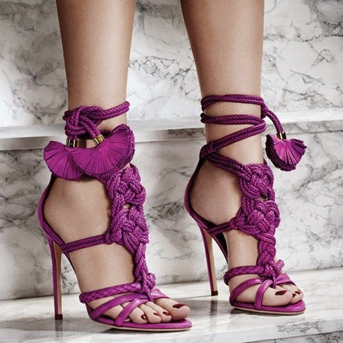 Brian Atwood Yuna leather sandals