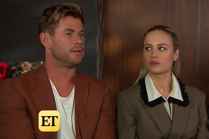 Brie Larson got nasty with Chris Hemsworth when he implied she did all her own stunts because she wanted to be the next Tom Cruise