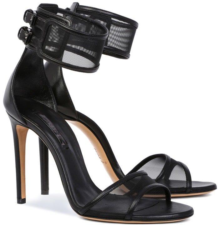 Casadei Sheer High Heels in Black