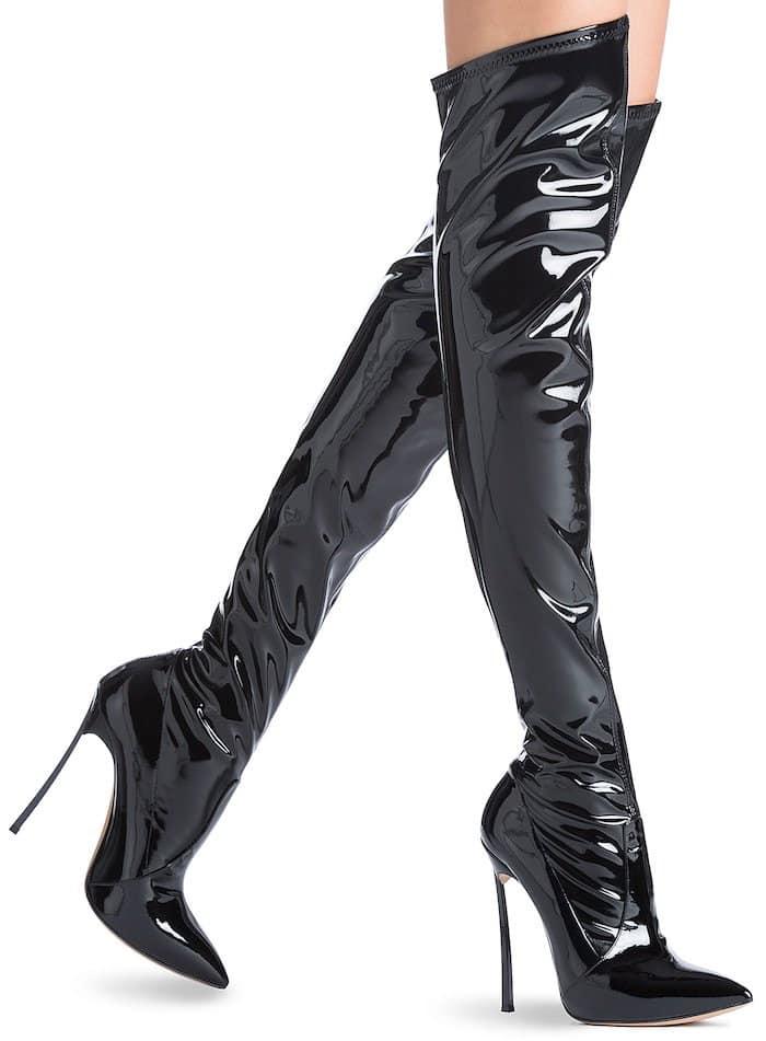 Casadei blade boots