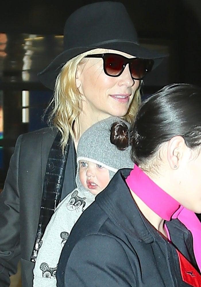 Cate Blanchett LAX Acne 1