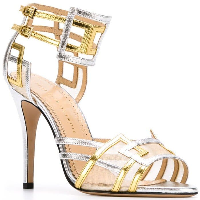 Charlotte Olympia 'Between the Lines' sandals