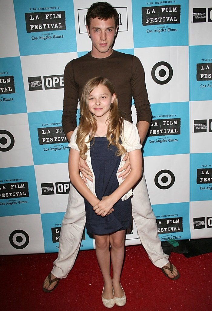 Chloe Grace Moretz and her gay older brother Trevor Duke