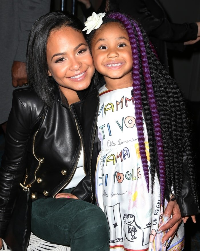 Christina Milian was criticized for putting braids in her daughter's hair