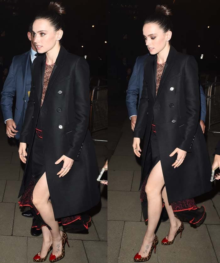 """Daisy Ridley attends the """"Star Wars: The Force Awakens"""" after party"""