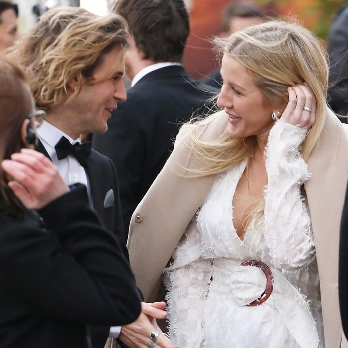 """Former lovebirds Dougie Poynter and Ellie Goulding reunited at the """"Our Planet"""" global premiere"""