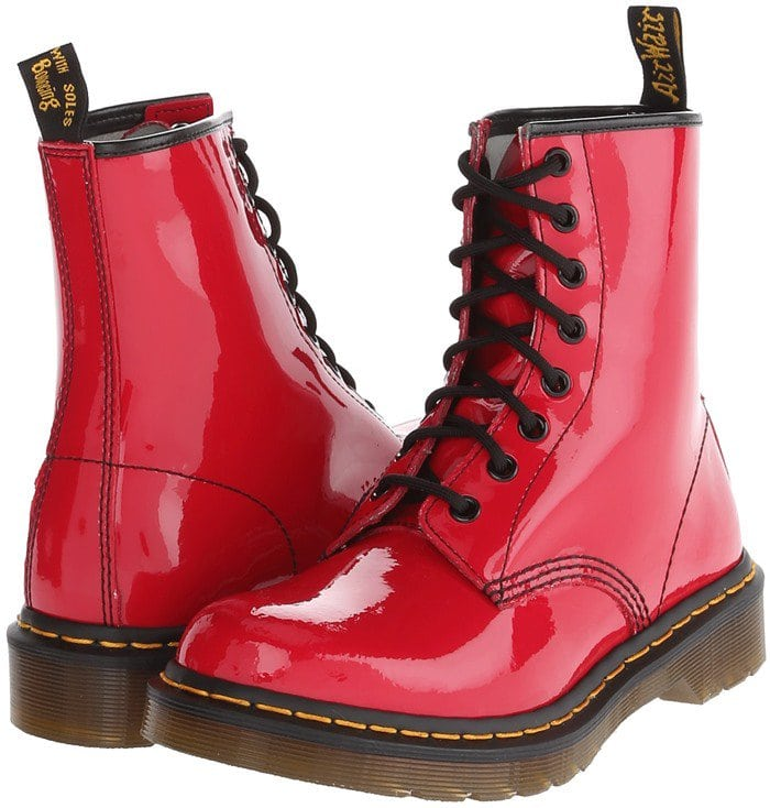 Dr. Martens 1460 W Red Patent