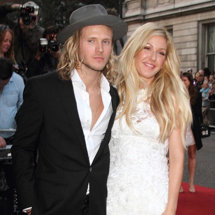 Ellie Goulding and Dougie Poynter dated on and off from 2013 until December 2015