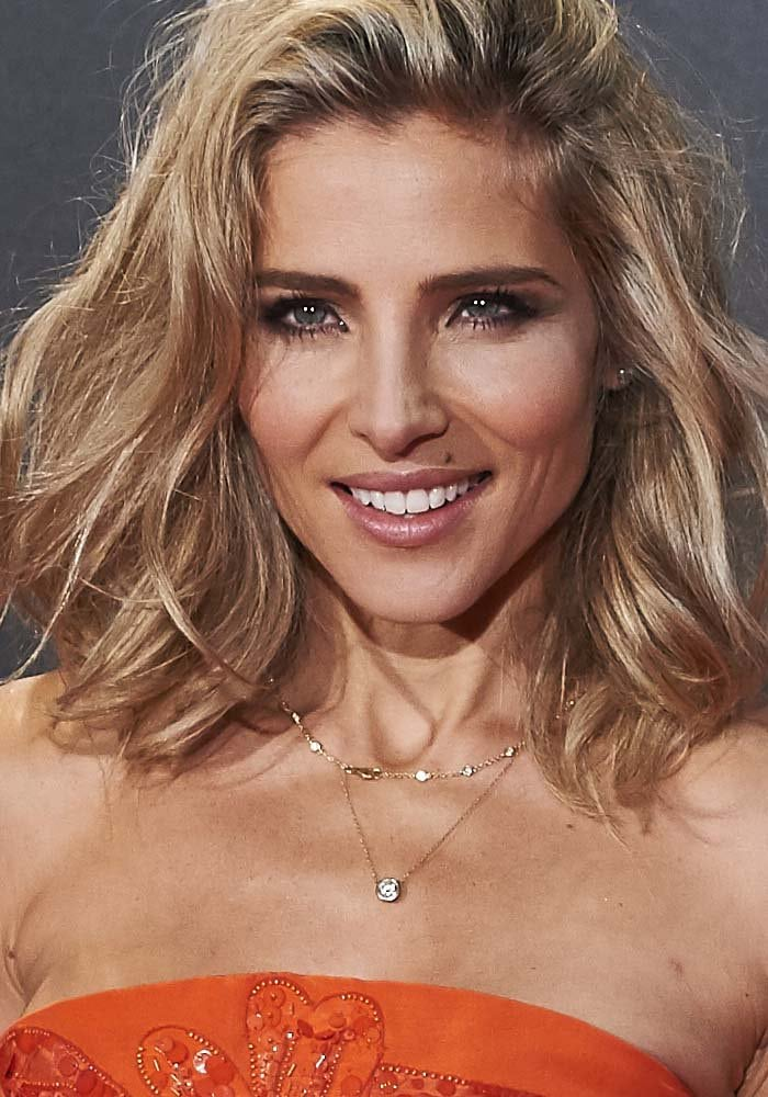 """Elsa Pataky wears her wavy blonde hair down at the premiere of """"In the Heart of the Sea"""""""