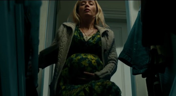 Emily Blunt looked like she was actually pregnant in A Quiet Place