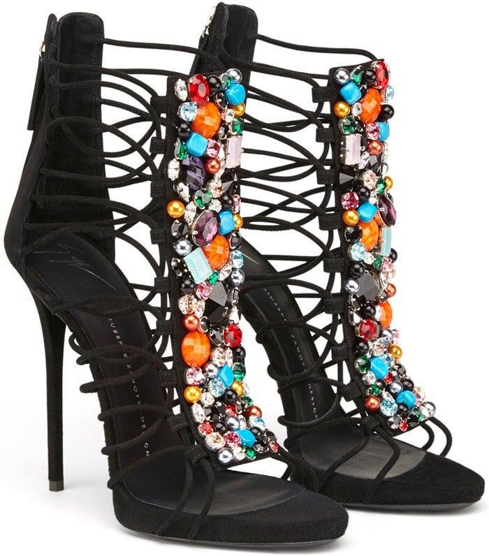 Giuseppe Zanotti ZOEY Crystal Embellishment Sandals