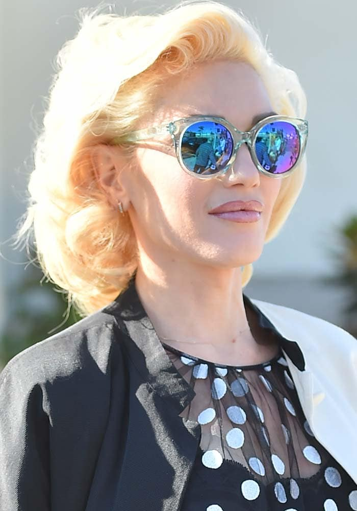 Gwen Stefani Church DSquared2 1