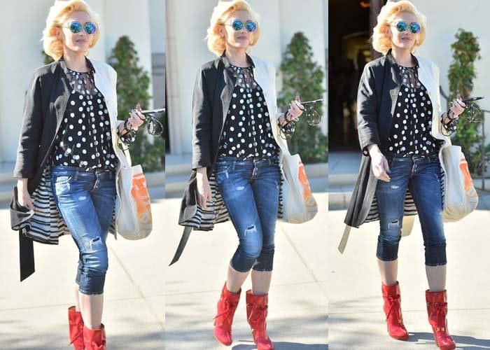 Gwen Stefani Church DSquared2 2