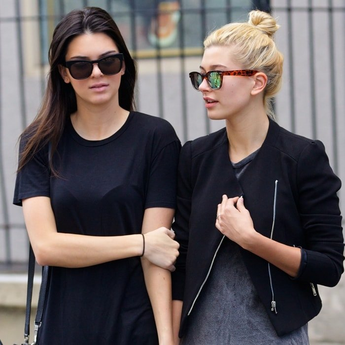 Kendall Jenner and Hailey Baldwin are still best friends