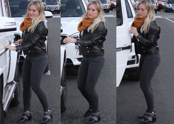Hilary Duff Shopping Marc Jacobs 2