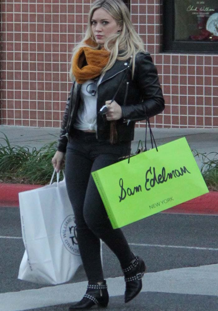Hilary Duff Shopping Marc Jacobs 3
