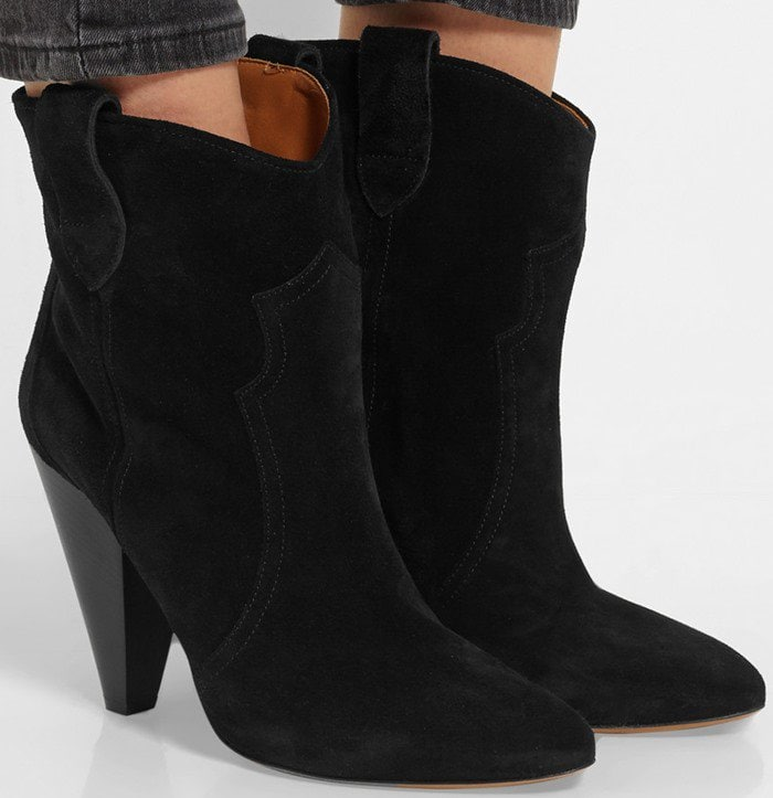 Isabel Marant Etoile Roxann suede ankle boots
