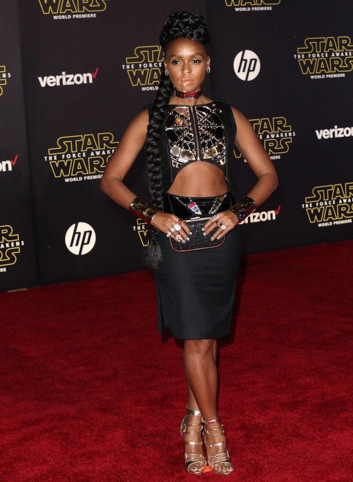 Janelle Monae Star Wars LA Premiere 3